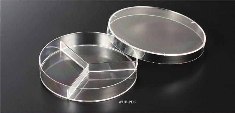 90mm三分格细菌培养皿