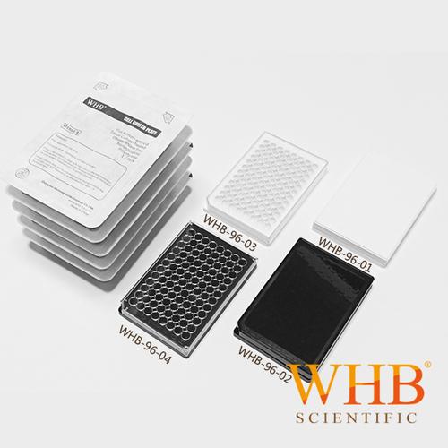 全黑全白96孔板 96 Well Black/White Plates